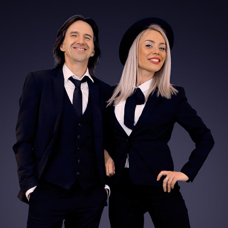 Seb & Jess, composé de Sébastien Plante et de Jessyka Lapierre