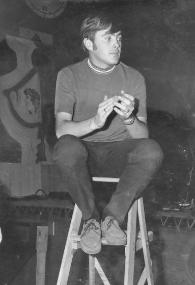 Pierre Gravel en 1965