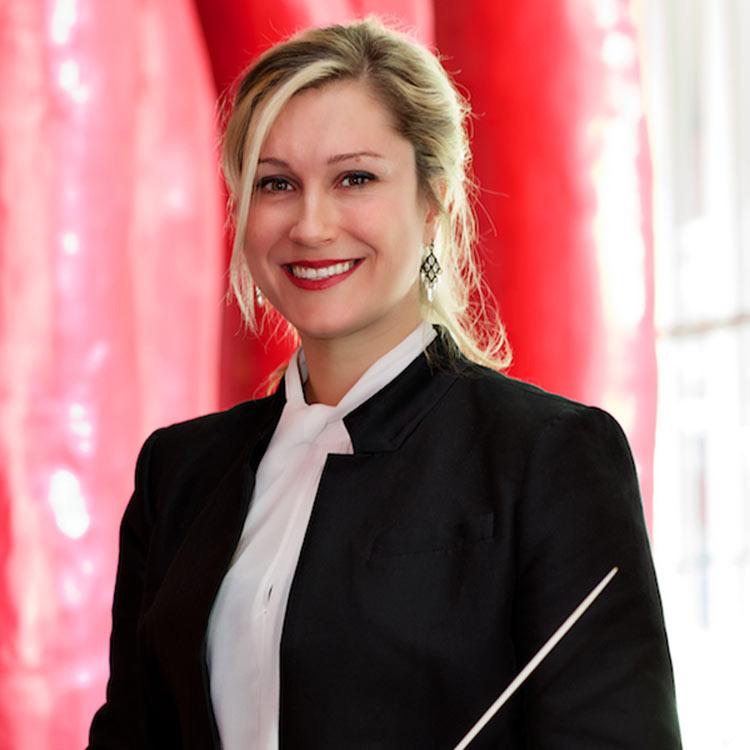 Véronique Lussier - Cheffe d'orchestre
