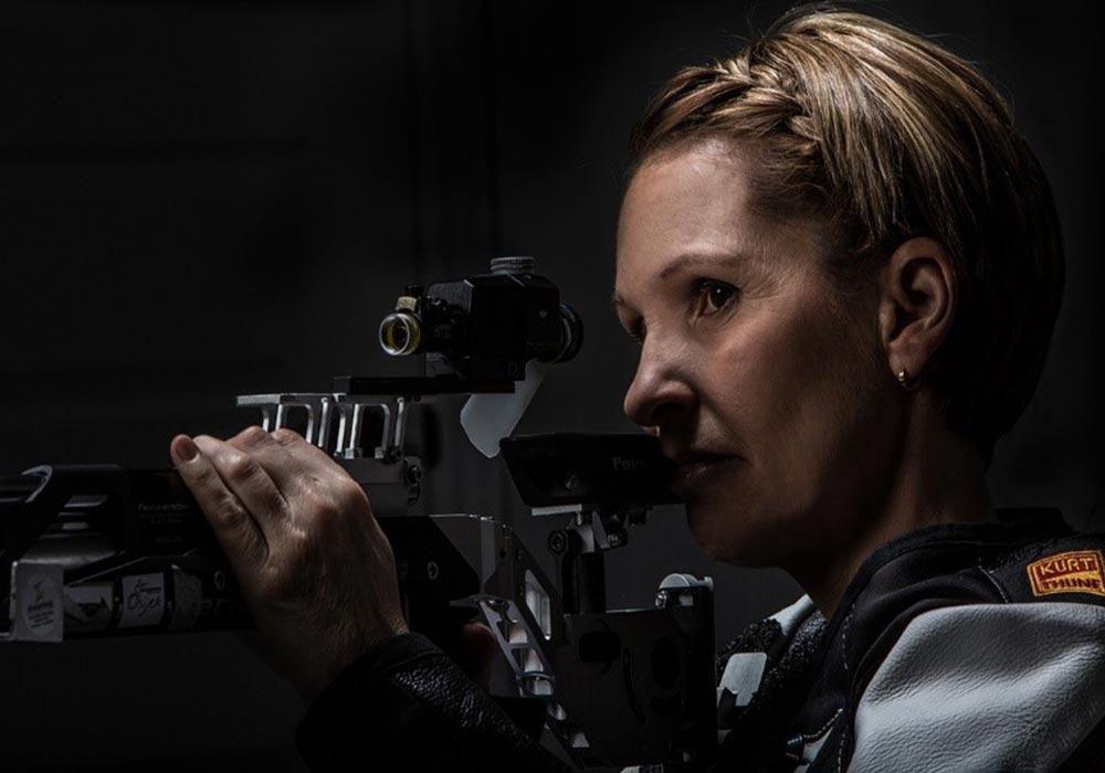 Lyne Tremblay, conférencière et tireuse à la carabine