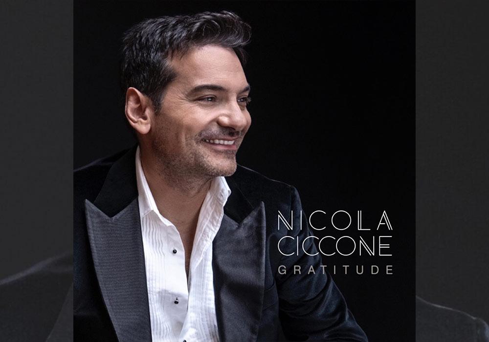 Nouvel album de Nicola Ciccone - Gratitude