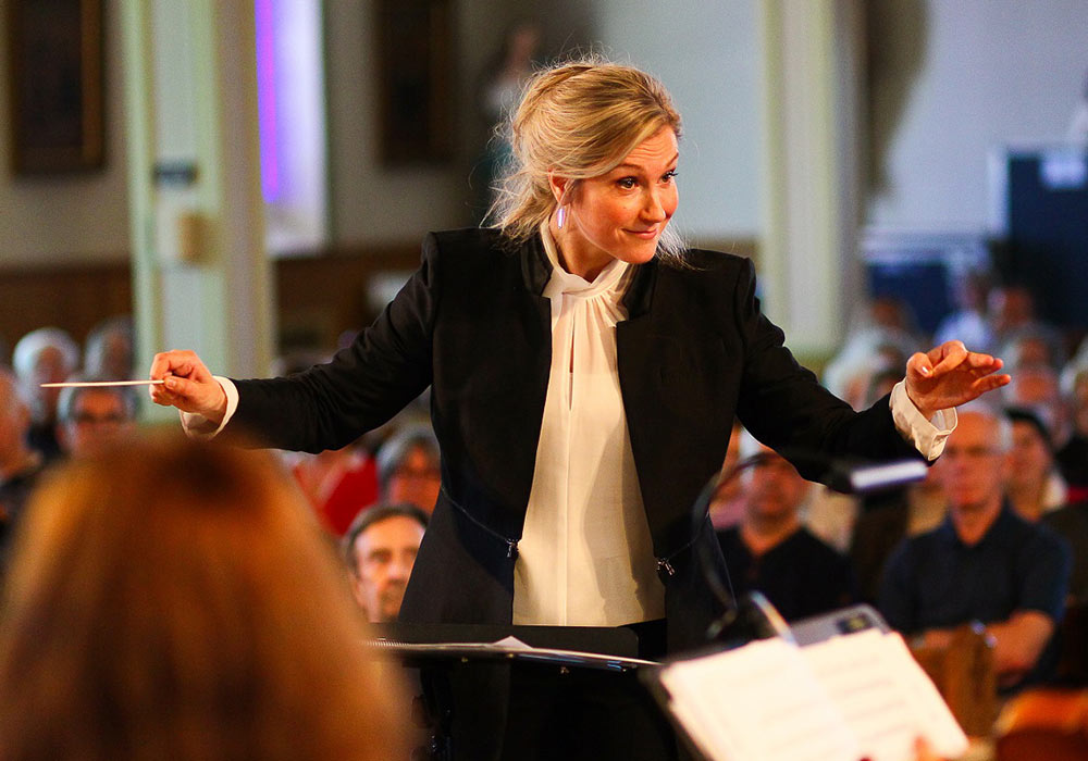 Véronique Lussier - Female Conductor